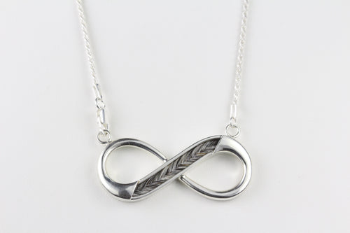 Infinity Pendant with chain