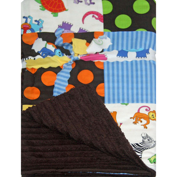 patchwork pram and bassinet blanket