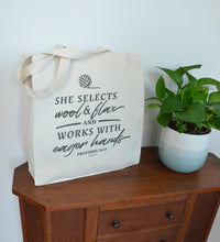 Load image into Gallery viewer, Proverbs 31 Tote Bag