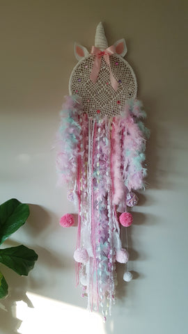 Unicorn Dreams Dreamcatcher