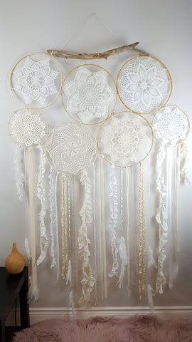 Large Boho Chic Dream Catcher Cluster