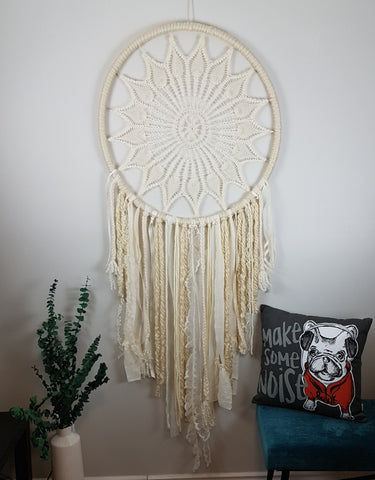 Giant Dreamcatcher Boho Decor