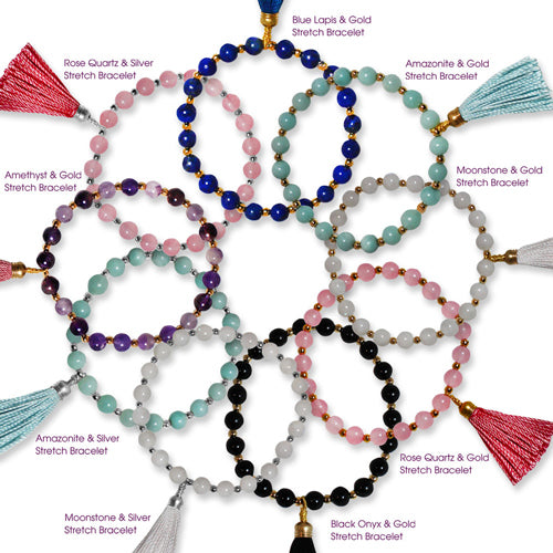 New Semi-Precious Tassel Bracelet Collection