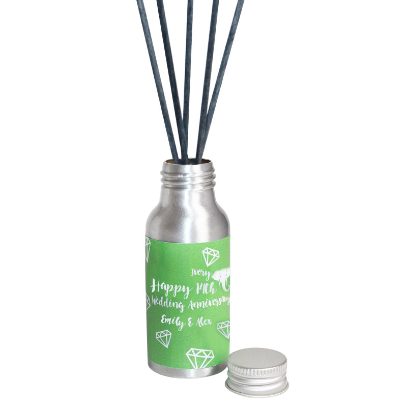 14th Year Ivory Wedding Anniversary Oil Reed Tin Diffuser