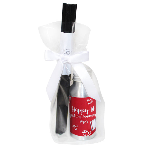 1st Year Paper Wedding Anniversary Oil Reed Tin Diffuser