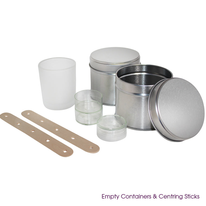 White Linen Luxury Candle Making Kit