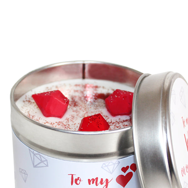 To My Wife On Our Anniversary Soya Wax Candle Tin