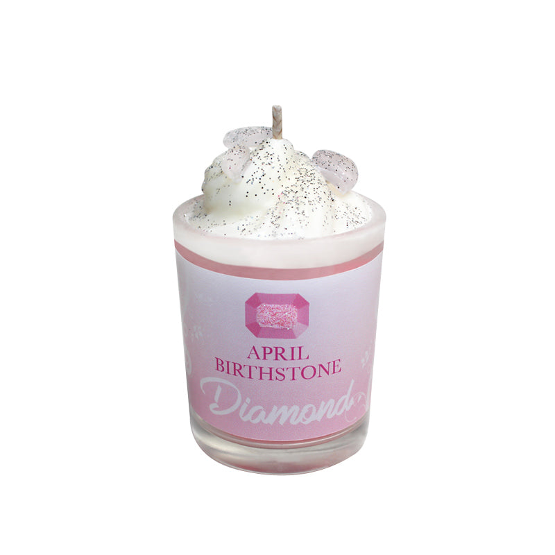 October Birthday Tourmaline Birthstone Soya Candle