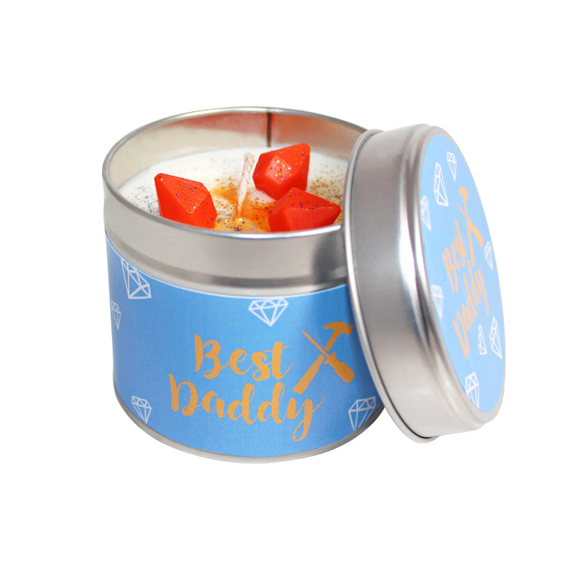 Best Daddy Soya Wax Candle Tin