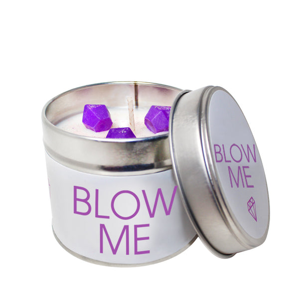 Blow Me Soya Wax 'Cheeky' Candle Tin