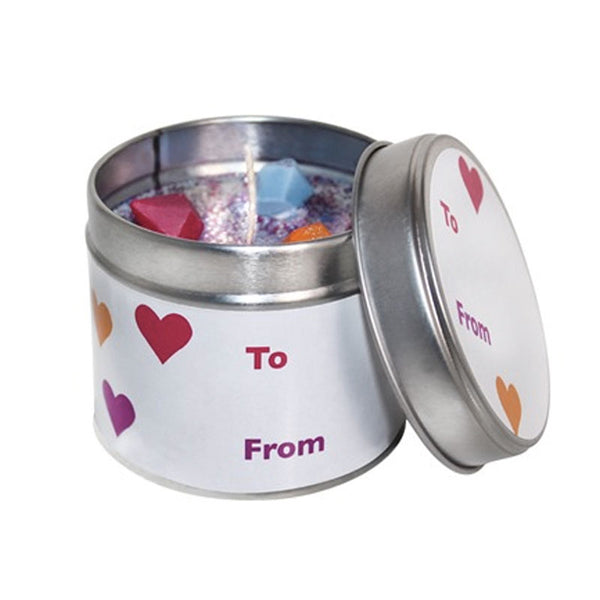 Customise Your Own Soya Wax Candle Tin