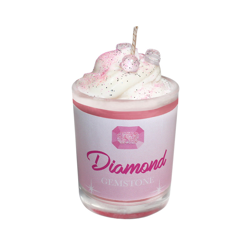 Diamond Gemstone Soya Candle
