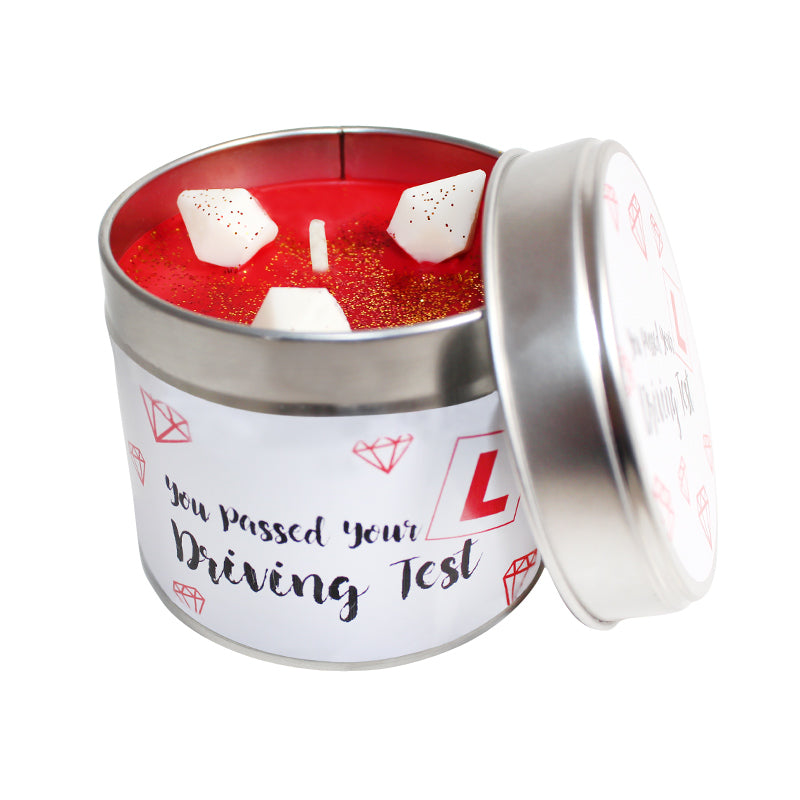 You've Past Your Driving Test Soya Wax Candle Tin