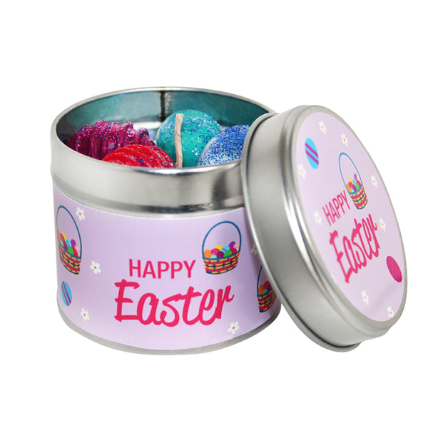 Happy Easter Soya Wax Candle Tin