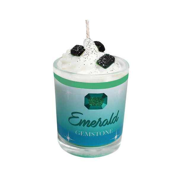 Emerald Gemstone Soya Candle