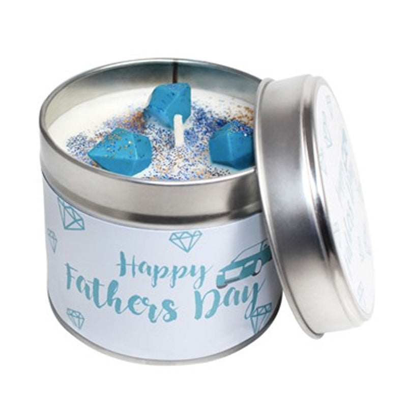 Father's Day Soya Wax Candle Tin