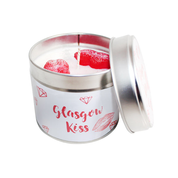 Glasgow Kiss Soya Wax Candle Tin