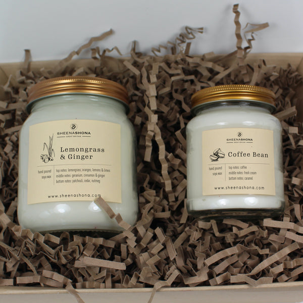 SOYA WAX HONEY JAR CANDLE - Choose Your Fragrance