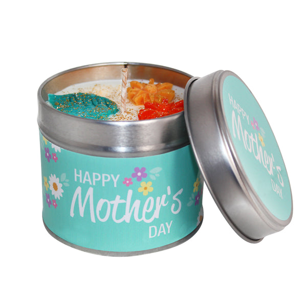 Happy Mothers Day Soya Wax Candle Tin