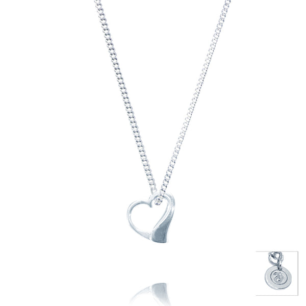 Sterling Silver True Love Pendant