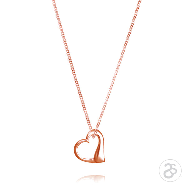 Rose Gold True Love Pendant
