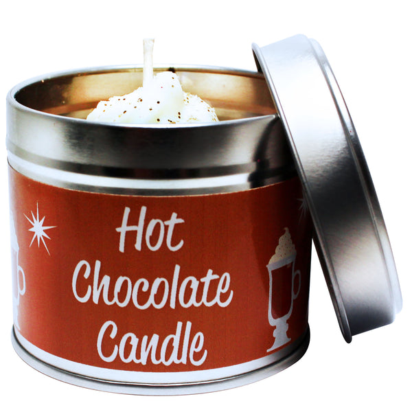 Hot Chocolate Soya Wax Candle Tin