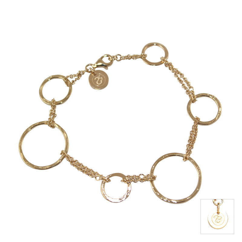 Rings Of Gold Bracelet