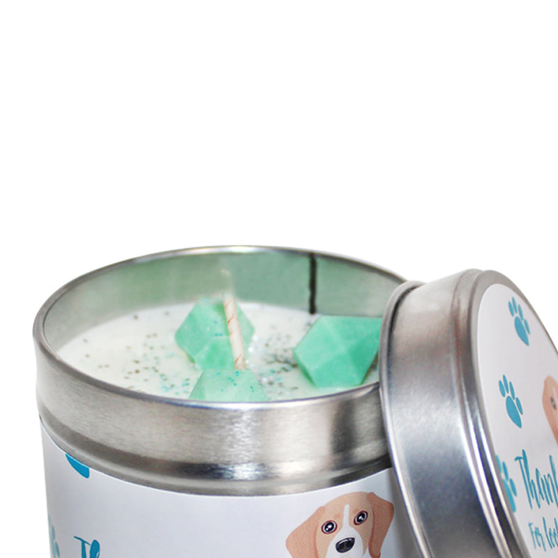 Thank You For Looking After My Dog Soya Wax Candle Tin