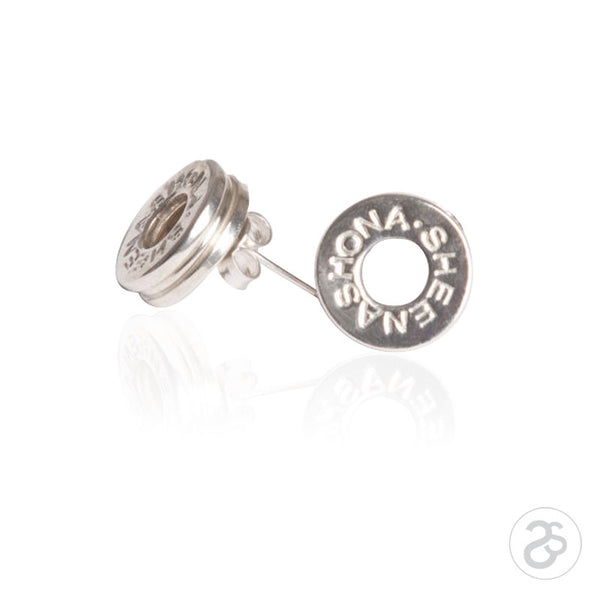 Sterling Silver Designer Stud Earrings