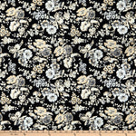 Wilmington Blackwood Cottage Large Floral Black