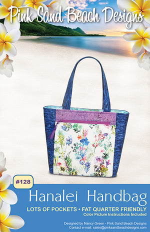 Load image into Gallery viewer, Hanalei Handbag by Pink Sand Beach Designs