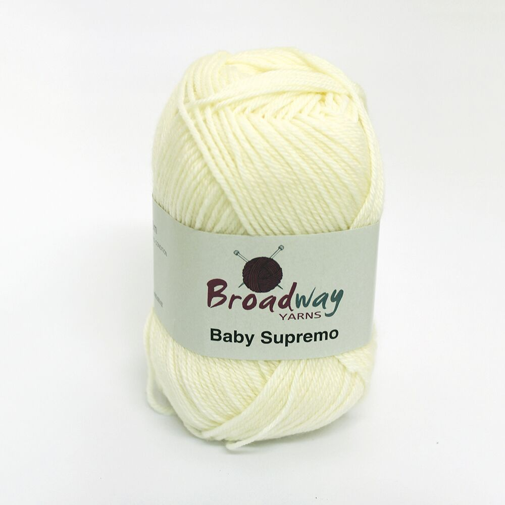 Baby Supremo by Broadway Yarns Ecru - 12