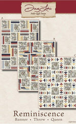 Antler Quilt Design - Reminiscence