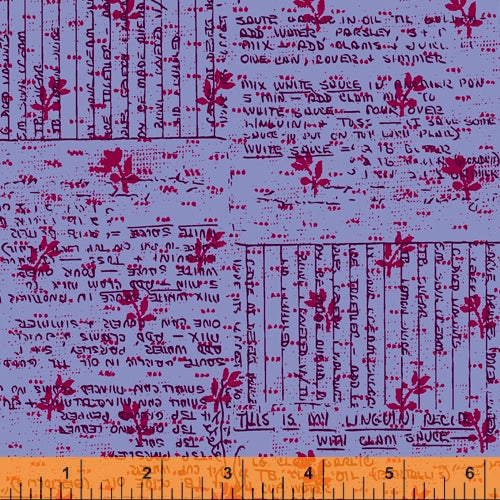 Windham Fabrics - Norma Rose - Recipes - Lilac