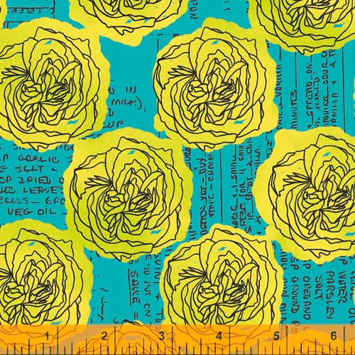 Load image into Gallery viewer, Windham Fabrics - Norma Rose - Roses & Recipes
