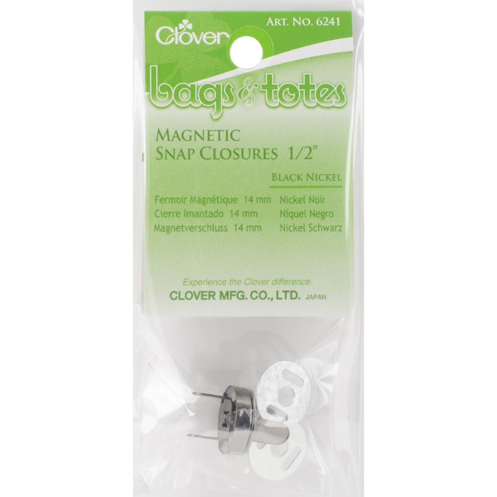 Clover Magnetic Snap Closures 1/2""