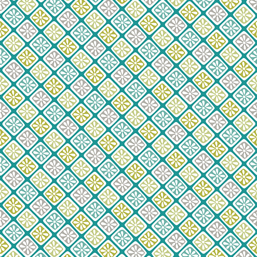 Contempo's Choose to Shine - Lattice Flower Teal