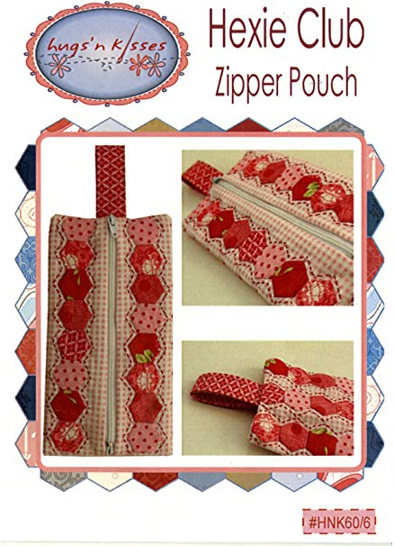 Load image into Gallery viewer, Hugs'nKisses Hexie Club - Zipper Pouch