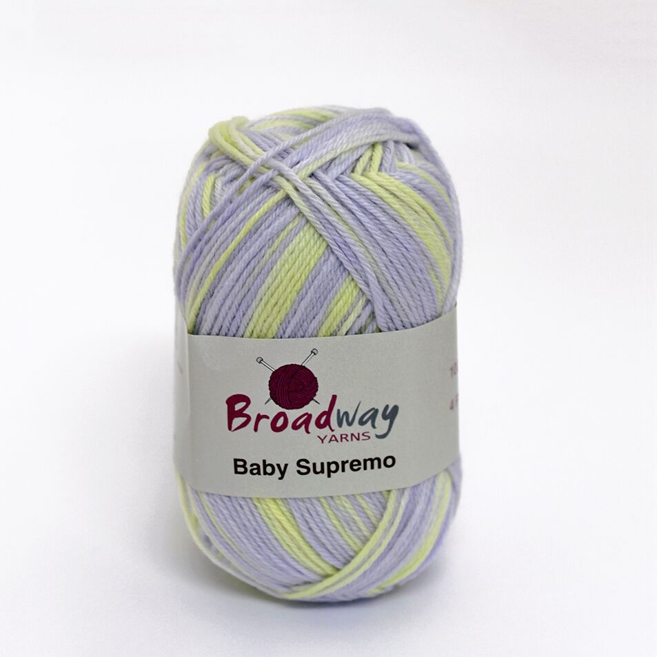 Baby Supremo by Broadway Yarns Fantasy Lavendar - 850