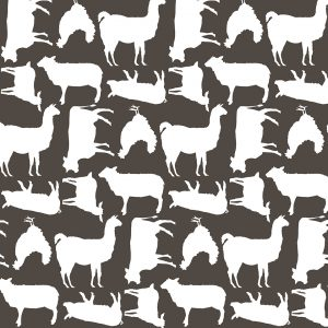 Load image into Gallery viewer, Poppie Cotton Barnyard - Grey