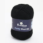 Purely Wool DK by Broadway Yarns - Black 903