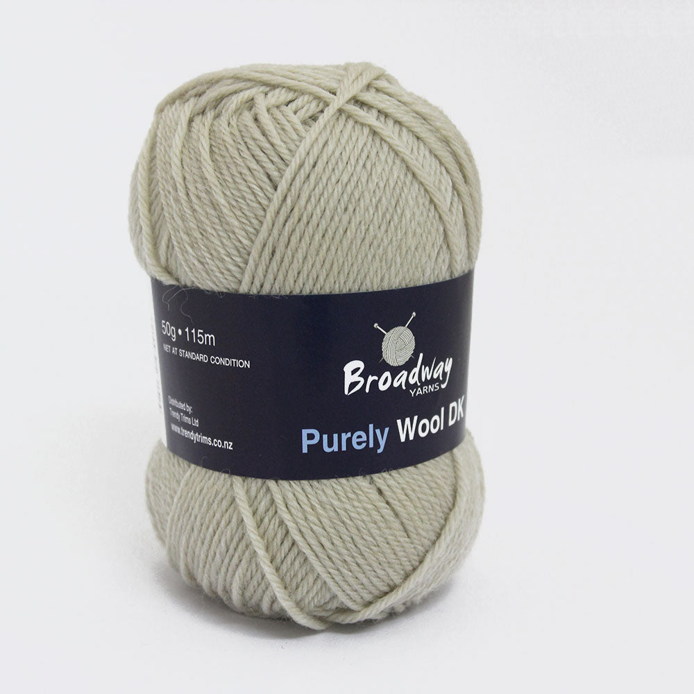 Purely Wool DK by Broadway Yarns - Stone - 906