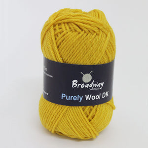 Purely Wool DK by Broadway Yarns - Mustard 9141