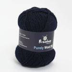 Purely Wool DK by Broadway Yarns - Navy 917
