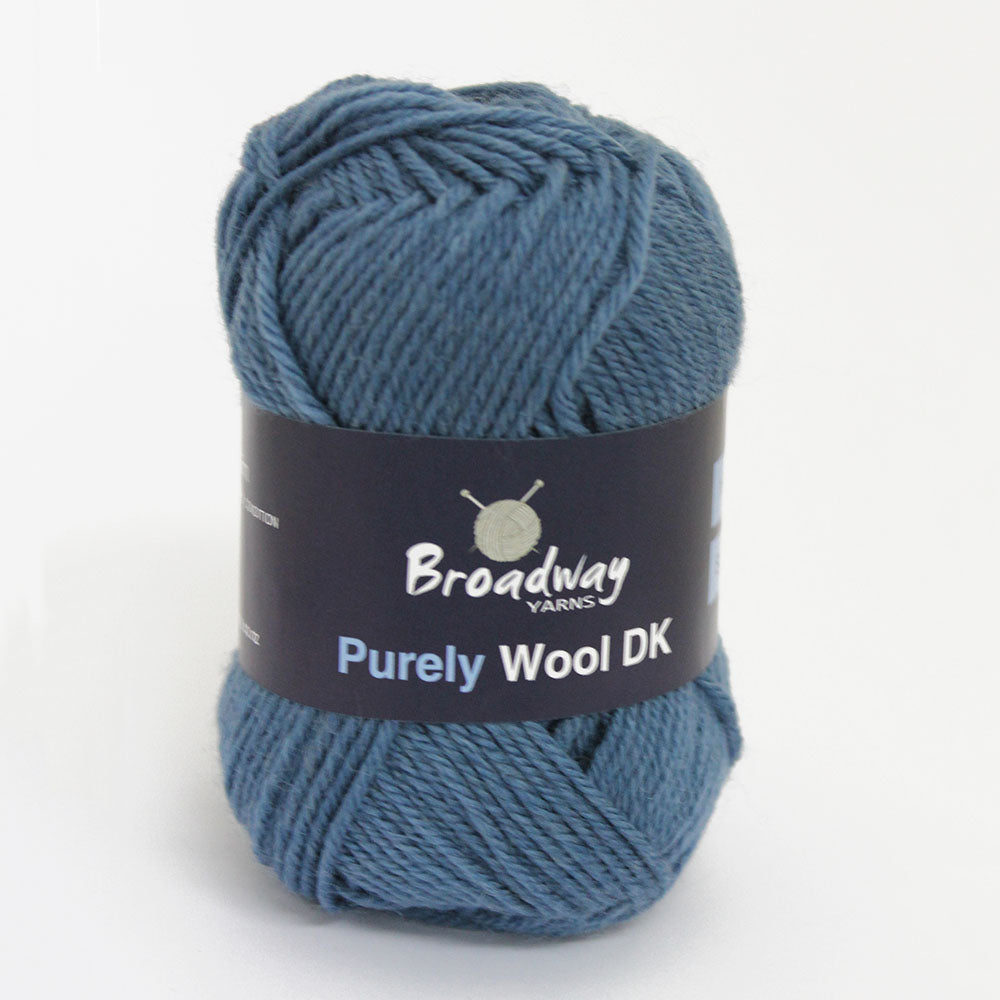 Purely Wool DK by Broadway Yarns - Mallard 9247
