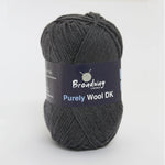 Purely Wool DK by Broadway Yarns - Charcoal 933