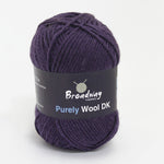 Purely Wool DK by Broadway Yarns - Purple 940