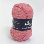 Purely Wool DK by Broadway Yarns Rose - 9471