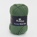 Purely Wool DK by Broadway Yarns - Green - 953