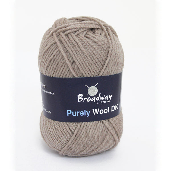 Purely Wool DK by Broadway Yarns - Oyster 978